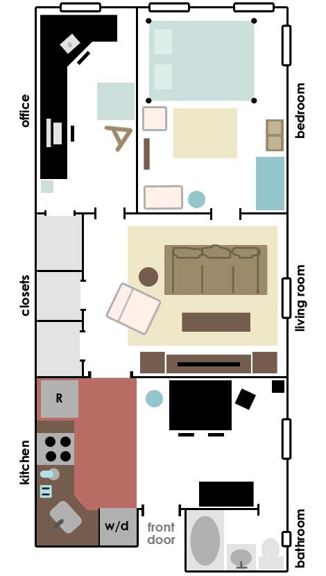 400 Sq Ft Apartment Plans Joy Studio Design Gallery