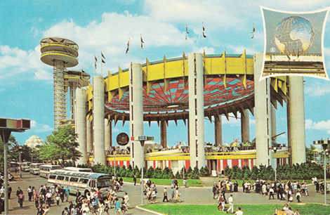 NY State Pavilion at the World's Fair