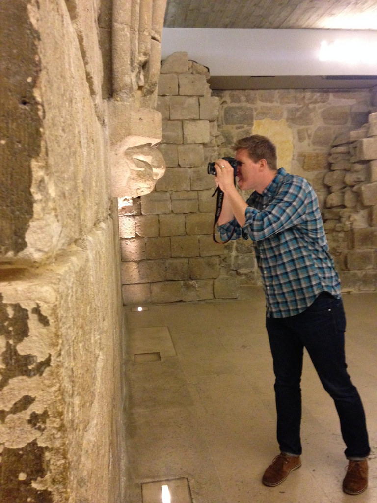 photographing in the Louvre