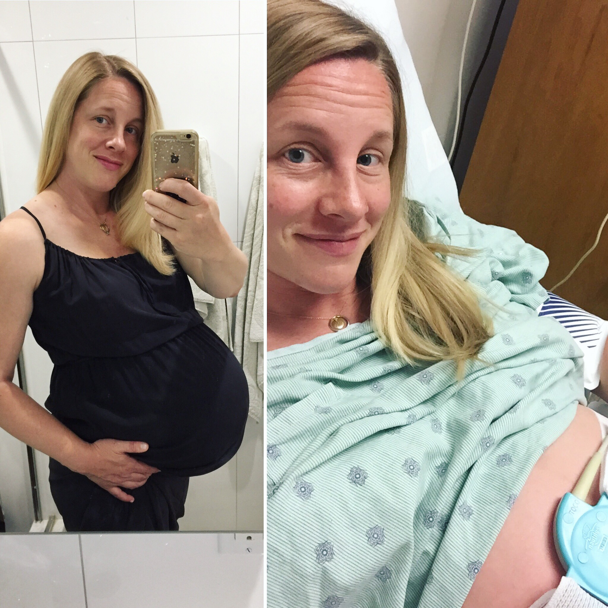 35.5 weeks - doctor appointment and hospital