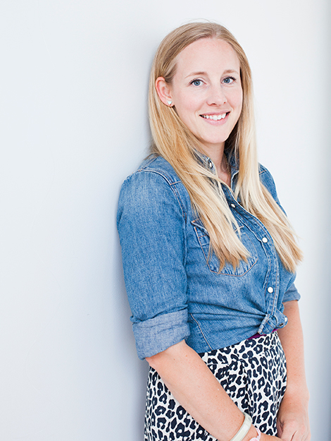 blogshop portrait of rachel johnson by Angela Kohler