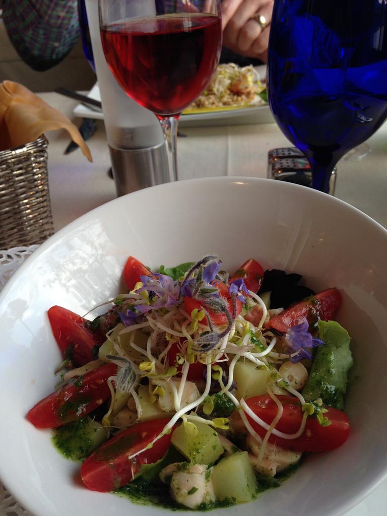 La Vista octopus salad